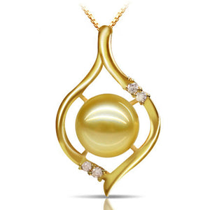 Golden Southsea Pearl Necklace - Timeless Pearl