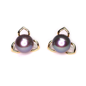 Edison Pearls of Trinity Earrings - Timeless Pearl