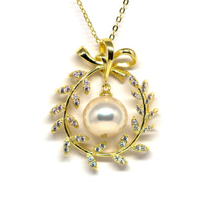 The Beauty Of Peace Edison Pearl Necklace - Timeless Pearl