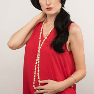 Endless Peanut Pearl Necklace - Timeless Pearl