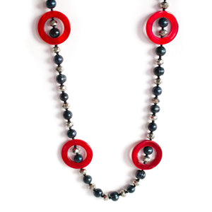 Cheerful Day Fashion Pearl Necklace - Timeless Pearl