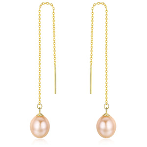 Elegant Pearl Drop Earrings - Timeless Pearl