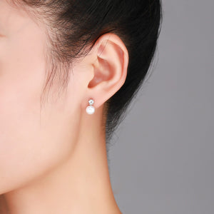 Forever One Pearl Earrings - Timeless Pearl