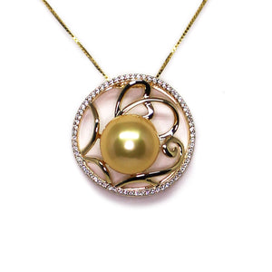 Loving Hearts Edison Pearl Necklace - Timeless Pearl