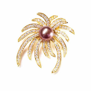 FIREWORK CELEBRATION EDISON PEARL BROOCH - Timeless Pearl