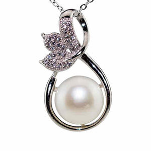Secret Garden Pearl Necklace - Timeless Pearl