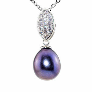 Black Pearl Necklace - Timeless Pearl