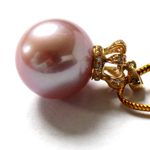QUEEN PINK PURPLE Edison PEARL Necklace - Timeless Pearl