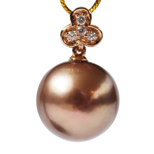 METALLIC BRONZE EDISON PEARL NECKLACE - Timeless Pearl