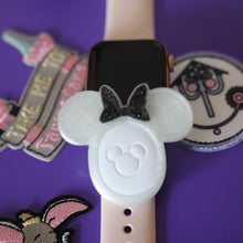 Load image into Gallery viewer, FLEXIBLE MagicBand 2.0 Puck Holder for Smart Watch Band Ear Bow Style