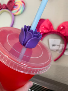 Flower Straw Topper