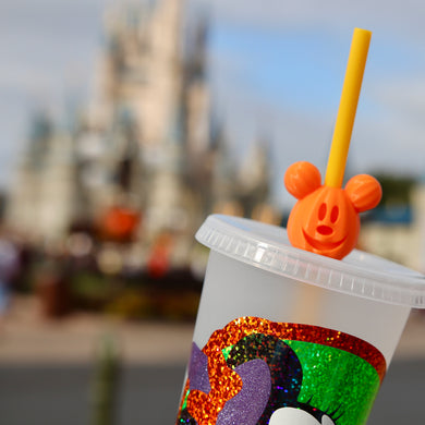 Magical Pumpkin Straw Topper
