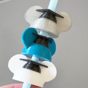 Magical Straw Graduation Ear Hat Decoration