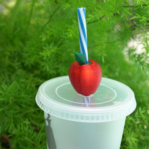 Magical Straw Apple