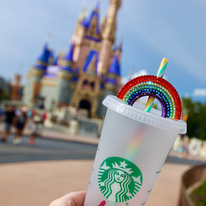 Bling Magical Straw Rainbow