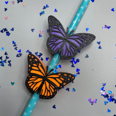 Butterfly Magical Straw Buddy