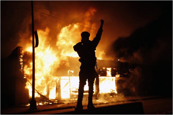 Why is Rioting the Answer in America? by Sarah Porter