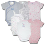 6 Pcs Pack Baby Romper Unisex Pure Cotton High Quality