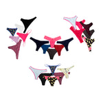 24 PCS CLASSIC ASSORTED THONG ( Popular)