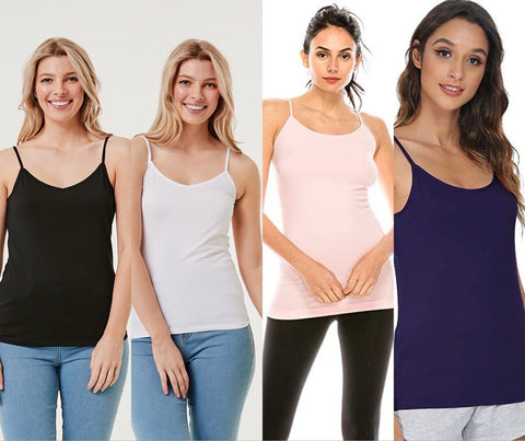 4 Pcs Assorted PCs Tank Tops