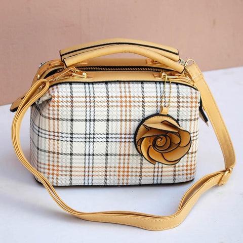 Ladies Hand Bag Golden