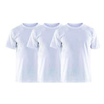 3 Pcs White T-shirt