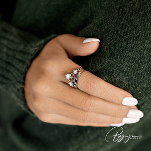 Flawless Crown Ring