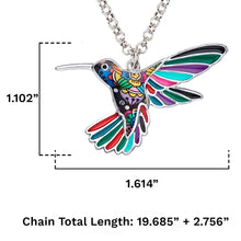 Load image into Gallery viewer, Ambitious Bird Pendant Necklace