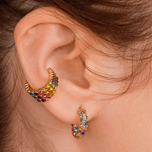 Tempting Crystal Ear Cuffs