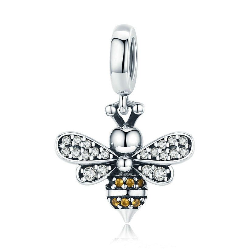 Busy Queen Bee Charm