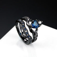 Load image into Gallery viewer, Dark Crown Ring Set