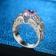 Load image into Gallery viewer, Whisper Princess Pink Heart Ring