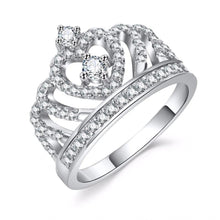 Load image into Gallery viewer, Tiara Crystal Ring