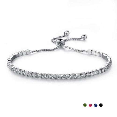 Humble Crystal Adjustable Bracelet