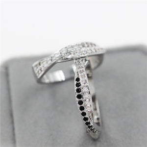 Mysterious Cubic Zirconia Ring