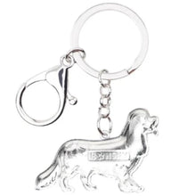 Load image into Gallery viewer, Spaniel Dog Keyring