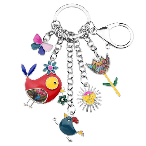 Jolly Chicken Keyring
