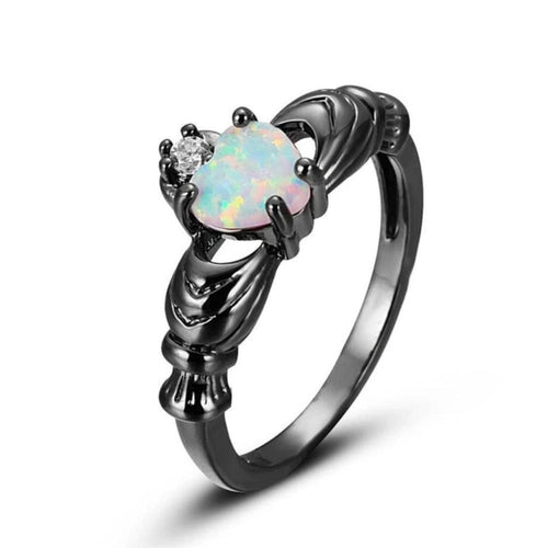 Pure Heart Dark Ring