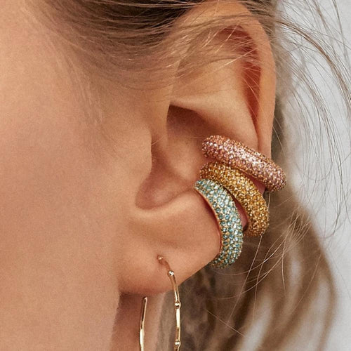Dearest Colored Ear Cuffs