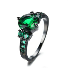 Load image into Gallery viewer, Royal Crystal Dark Ring