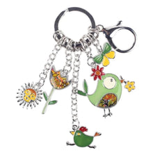 Load image into Gallery viewer, Jolly Chicken Keyring