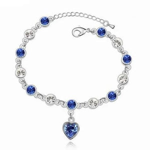 Virtuous Blue Silver Bracelet
