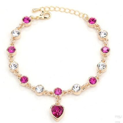 Lovely Bracelet- Purple Red G