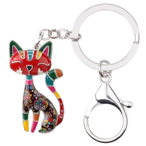 Cat Look Keyring