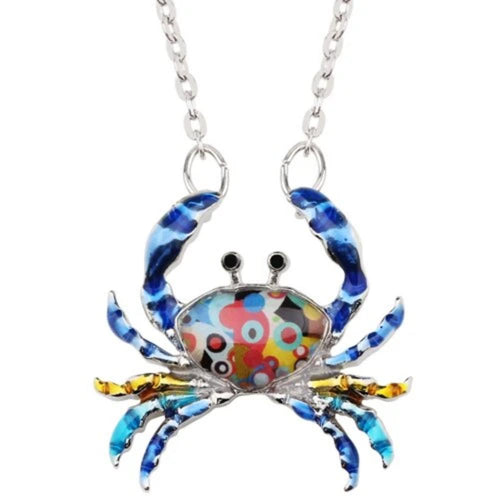 Own The Sea Crab Pendant Necklace