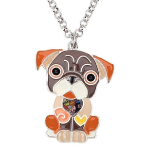 French Bulldog Pendant Necklace