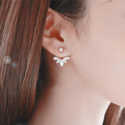 Brave Petal Stud Earrings
