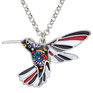 Ambitious Bird Pendant Necklace