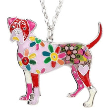 Load image into Gallery viewer, Boxer Dog Pendant Necklace