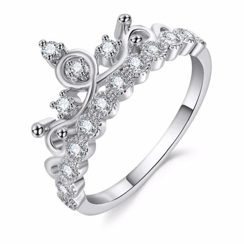 Majestic Princess Crown Ring
